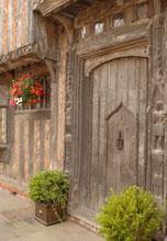 The Front Door to De Vere House