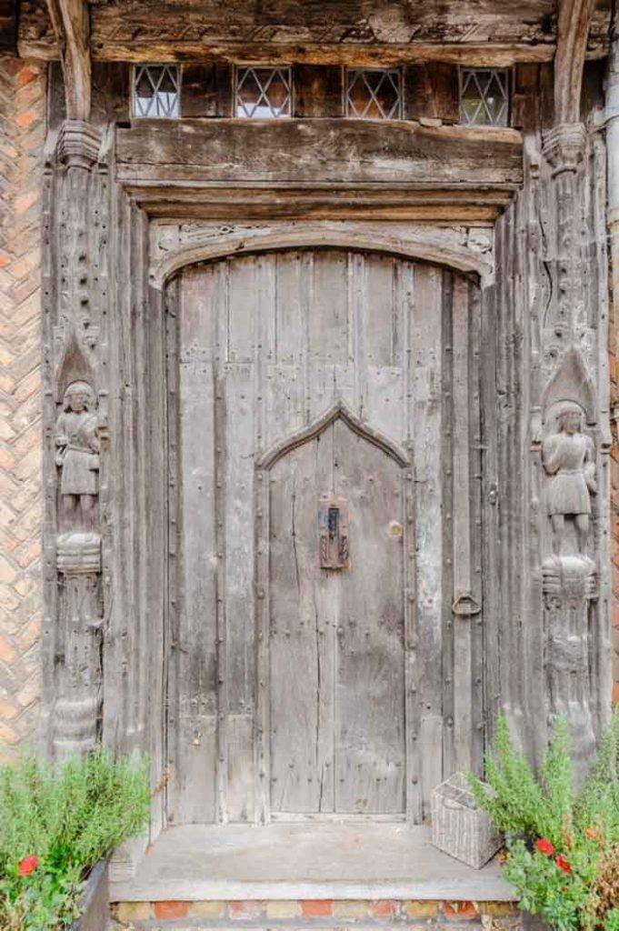 Front Door of De Vere House